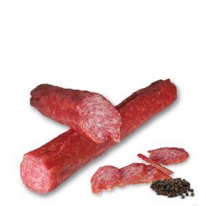 Gedroogde worst met peper