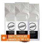 Troast koffiebonen 'maximaal genieten' 3x1kg