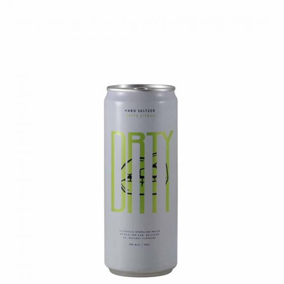 DRTY Hard Seltzer Citrus white