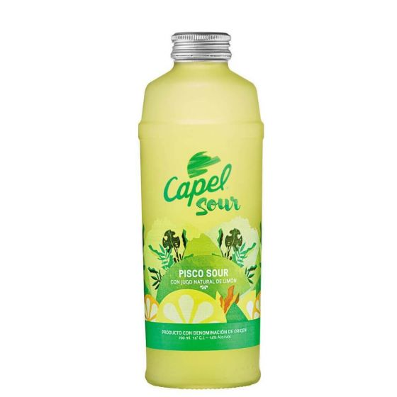 Pisco Capel Sour Con Limon (70cl)