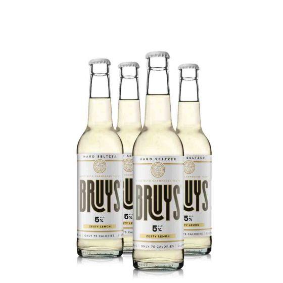 Bruys Zesty Lemon Hard Seltzer (27,5cl)