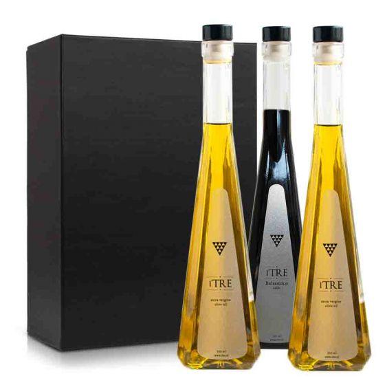 Olijfolie & azijn pakket (3 flessen)