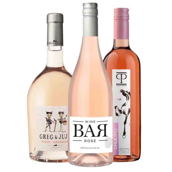 Rosé wijn proefpakket