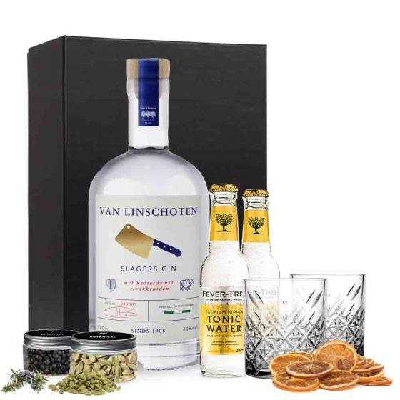 Gin & tonic pakket met Slagersgin