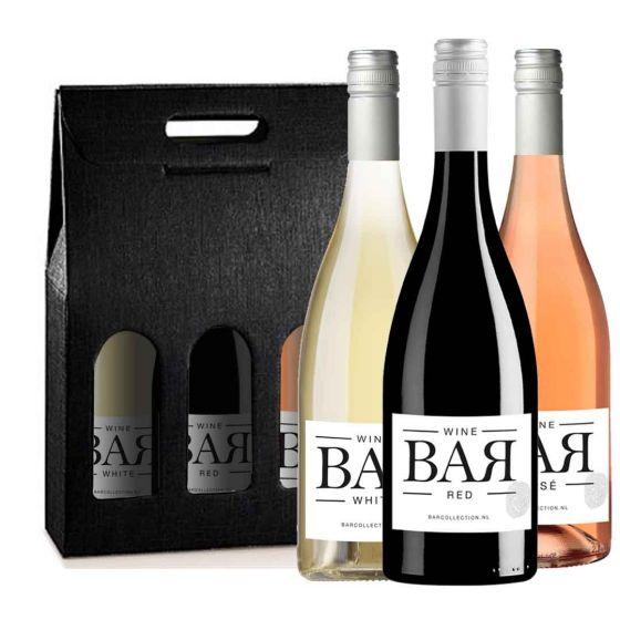Wijnpakket BAR collection (3 flessen)