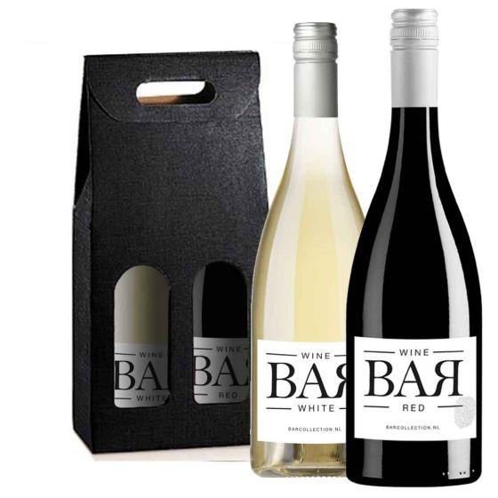 Wijnpakket BAR collection (2 flessen)