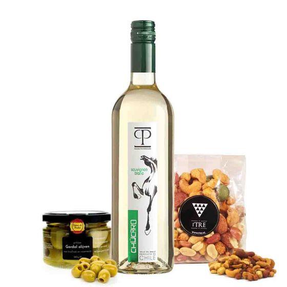 VrijMiBo pakket met witte wijn