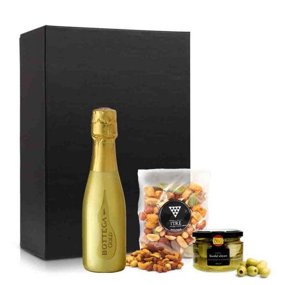 VrijMiBo borrelpakket met bottega gold prosecco