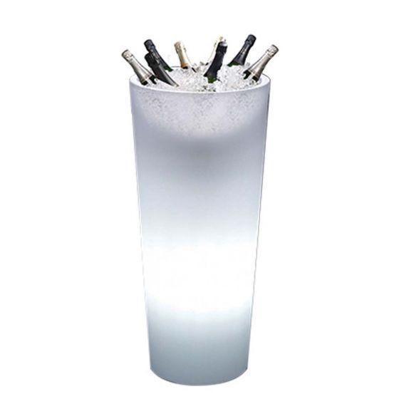 Wijnkoeler Totem Round met LED verlichting