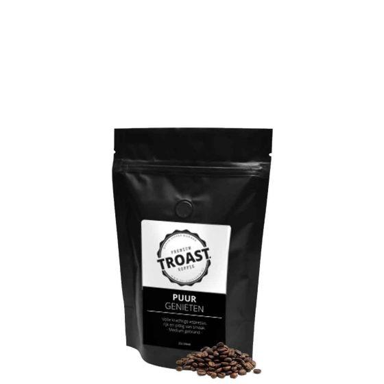Troast koffiebonen 'puur genieten' 250 gram