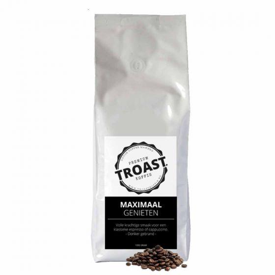 Troast koffiebonen 'maximaal genieten' 1kg