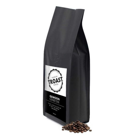 Troast koffiebonen 'gewoon genieten' 1kg