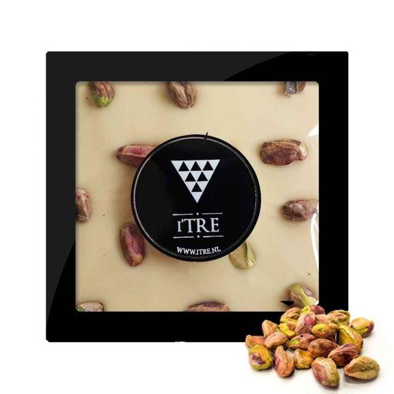 iTRE Witte chocolade blok met pistache noten