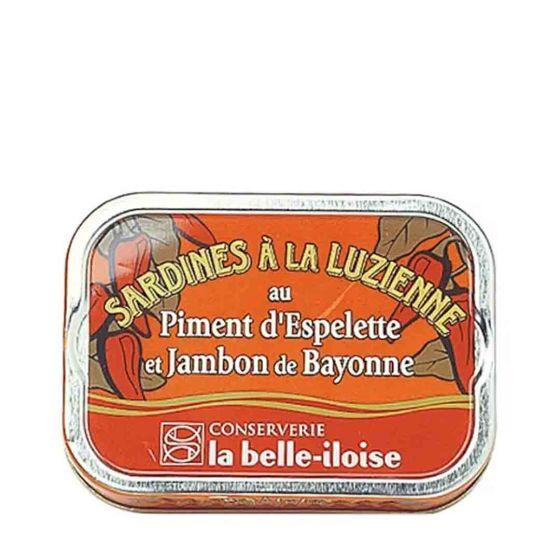 La belle-iloise Sardines à la Luzienne