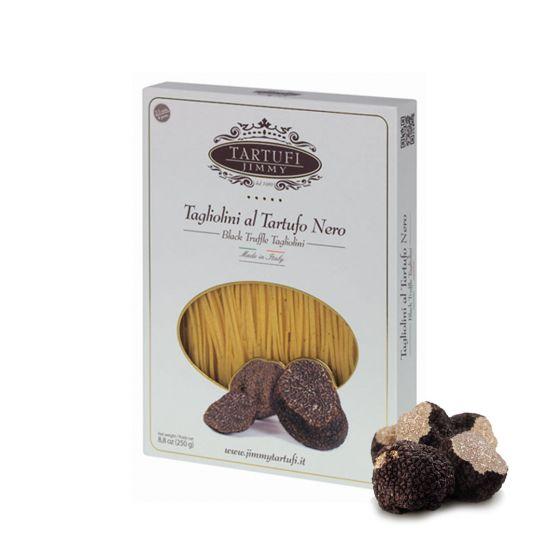 Zwarte truffel pasta Tagliolini 250 gram