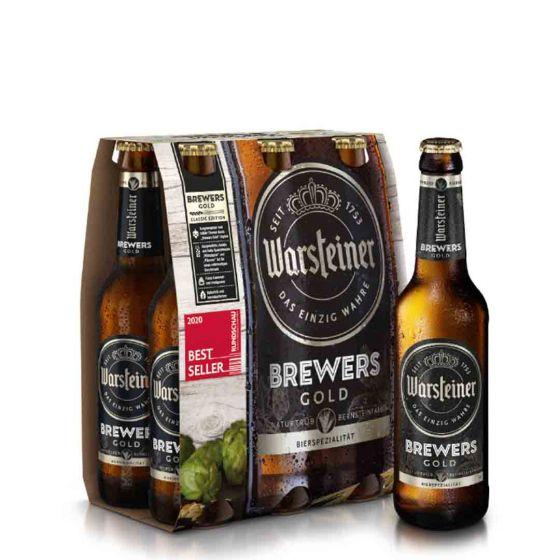 Warsteiner Brewers Gold (6 x 33cl in fles )