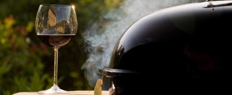 Wijnen bij de barbecue