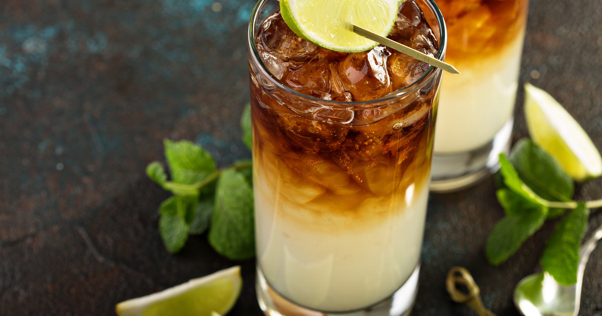 Cocktailrecept: Dark 'n Stormy