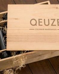 wijnkist met logo