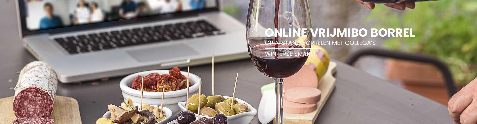 online Vrijmibo borrel