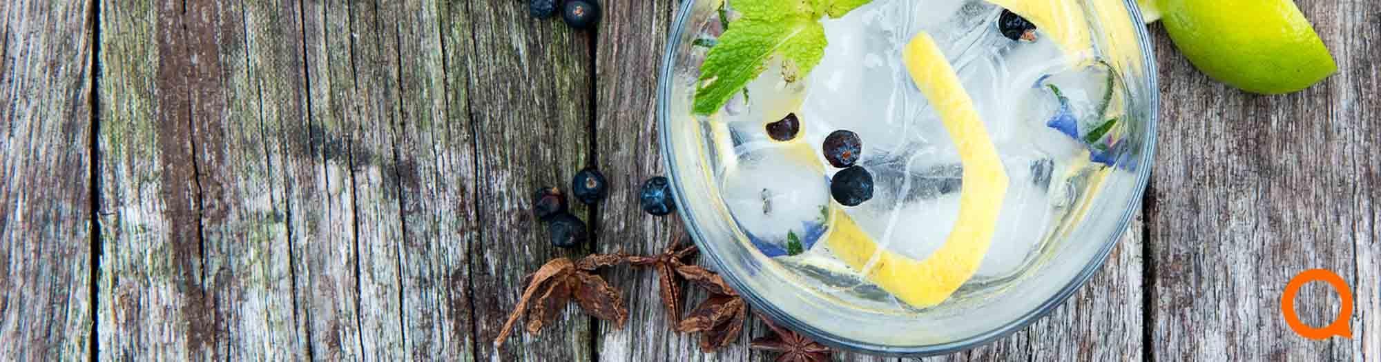 Gin tonic pakketten
