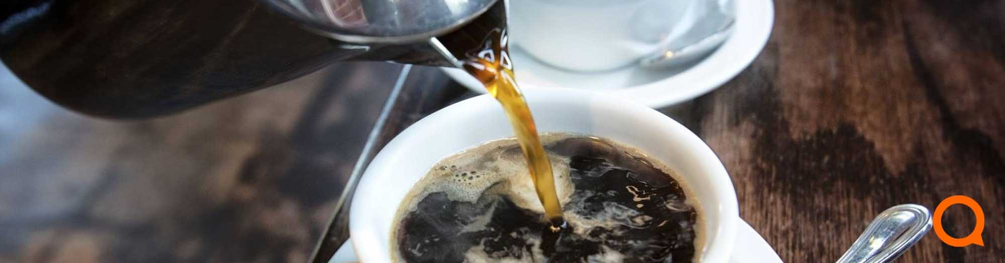 Koffie gemalen