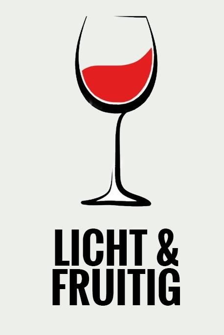 Rode wijn – licht en fruitig