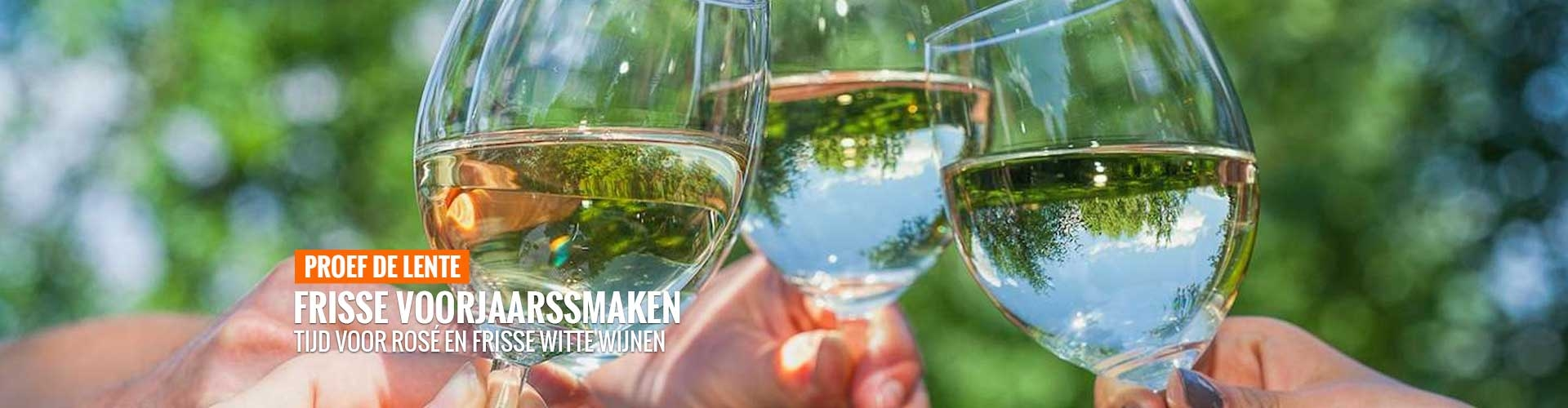 Proef de lente wijnen