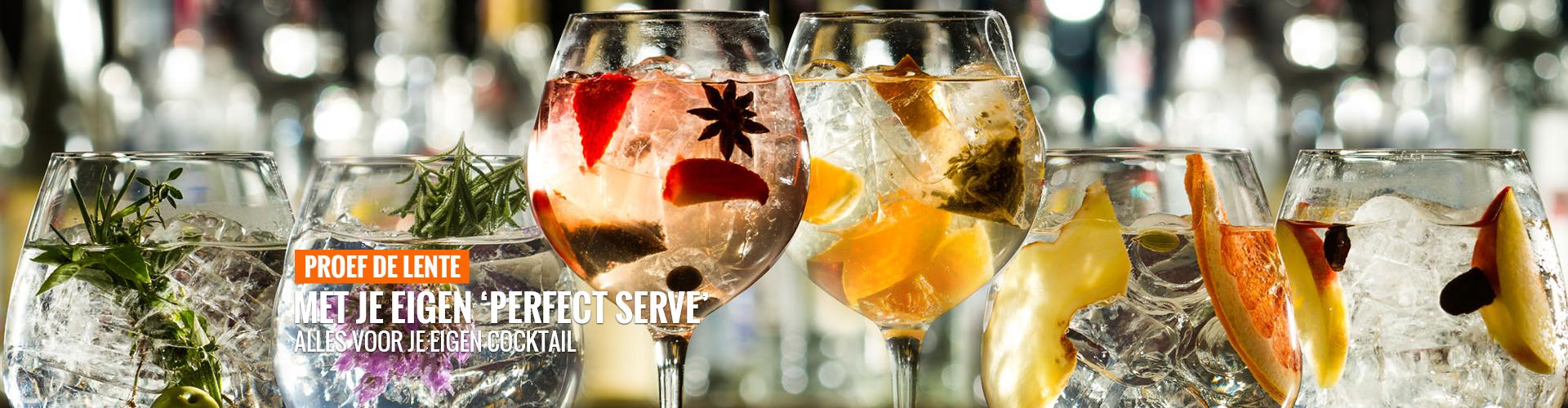 Proef de lente cocktails