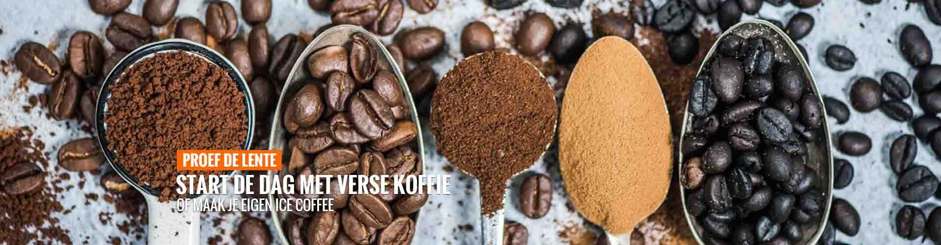 Proef de lente koffie