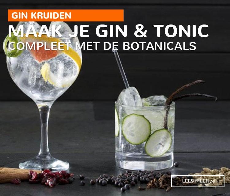 Botanicals Gin kruiden